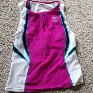 TYR cycling jersey
